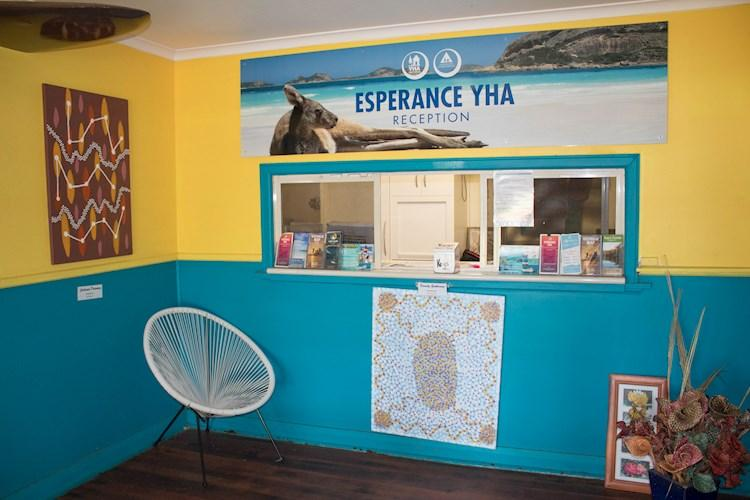 Esperance YHA Reception