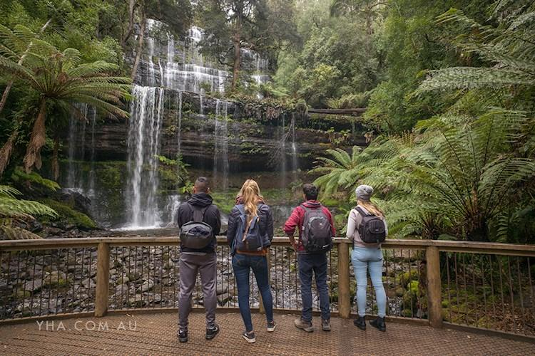 Hobart Central YHA_Mount Field National Park_Russell Falls_2017.jpg
