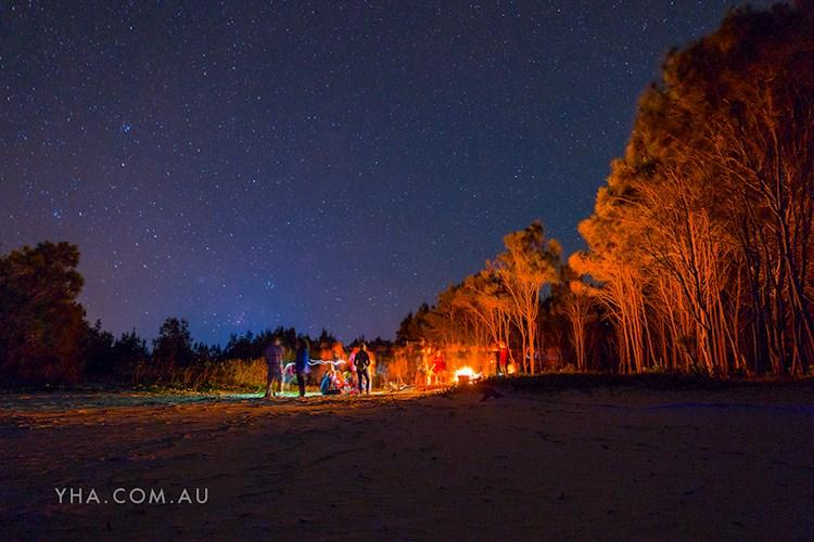 Yamba YHA - Bonfire Night