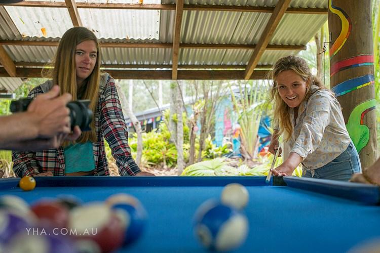 Nimbin Rox YHA - Pool Table
