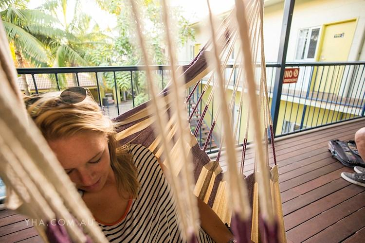 YHA Cairns Central - Hammock