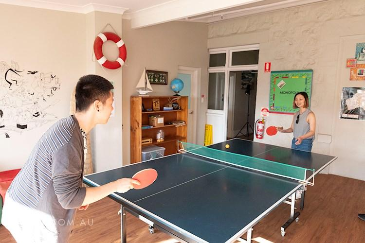 Port Elliot YHA - Ping Pong Table
